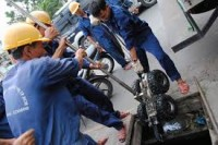 hút bể phốt tại Nguyễn Đức Cảnh