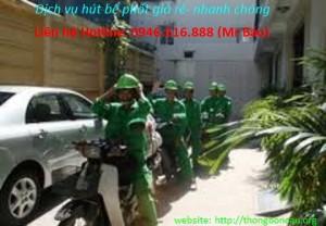 hut be phot tai thanh pho Viet Tri