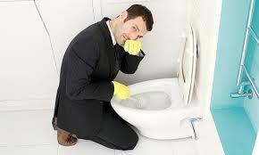 Bạn làm gì khi nhà vệ sinh tắc