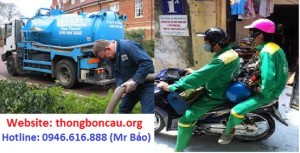 dịch vụ hút bể phốt tại Lĩnh Nam