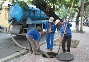 dịch vụ hút bể phốt tại Thịnh Liệt