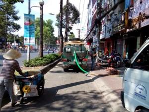 Dịch vụ hút bể phốt tại Tư Đình