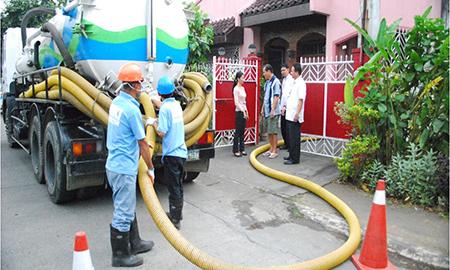 Hút bể phốt tại Thành phố Phúc Yên chuyên nghiệp